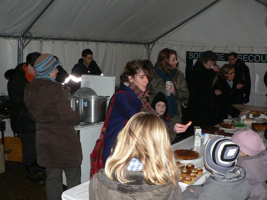 Participation au téléthon du 4 decembre 2010