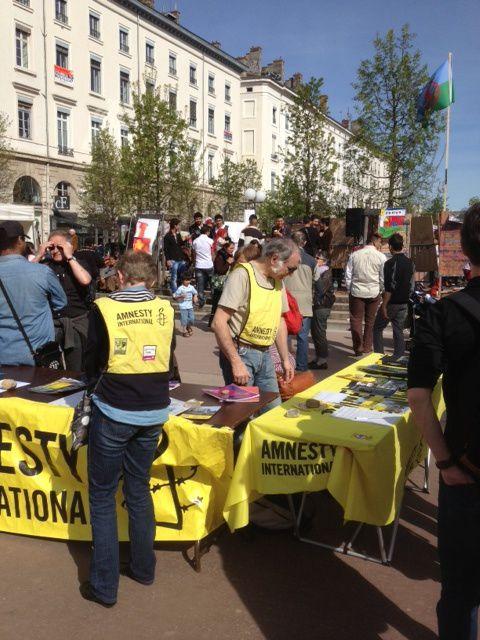 photos de la 3ème Journée organisée par le Collectif RRom des Associations, le 13 avril 2013