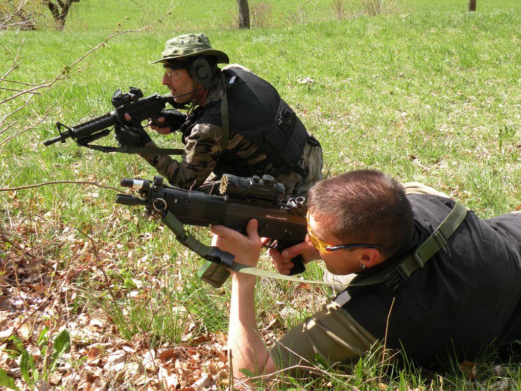 Warrior, Fox, zortem, Sniper (pas sur la photo)