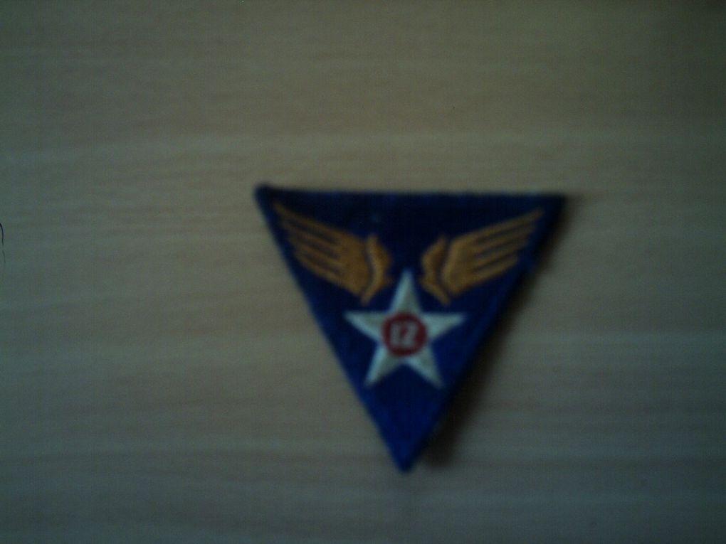 collection de patchs de l'U.S.Army 2WW.