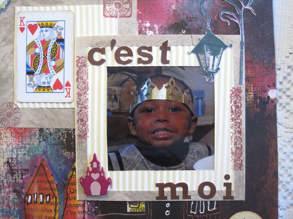Album - challenge Stamp-Enjoy décembre
