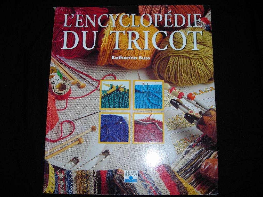 livres de mes début au tricot