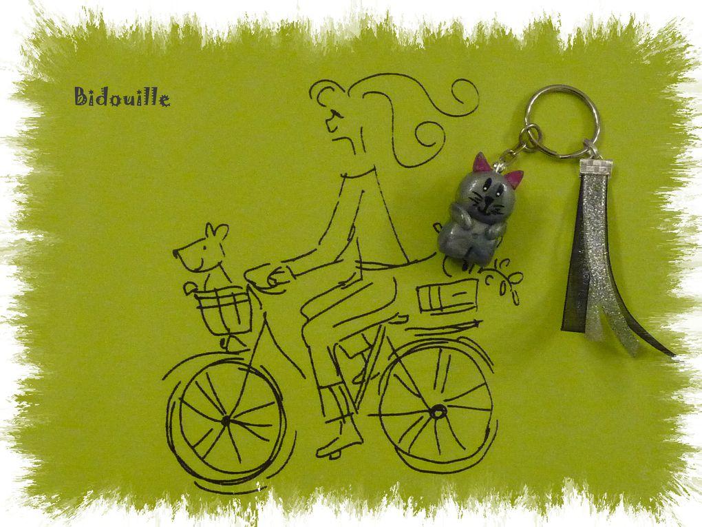 Album - 04.   Bijoux de sac ALBUM n°1 (ou porte clés / Gri gri)