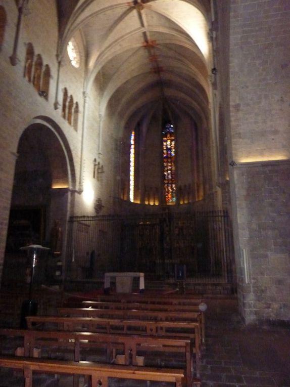La majestueuses Cathédrale et la ville de Gerone