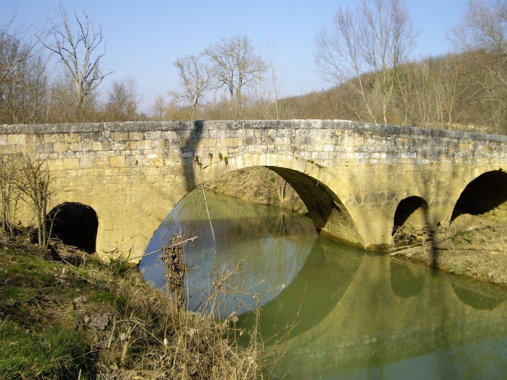 Février-Mars 2008.De Cahors à Roncevaux, via Lectoure, Comdom, Eauze, Aire-sur-Adour, St Jean-Pied-de-Port.