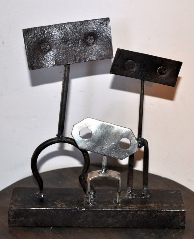 Album - Sculptures et assemblages