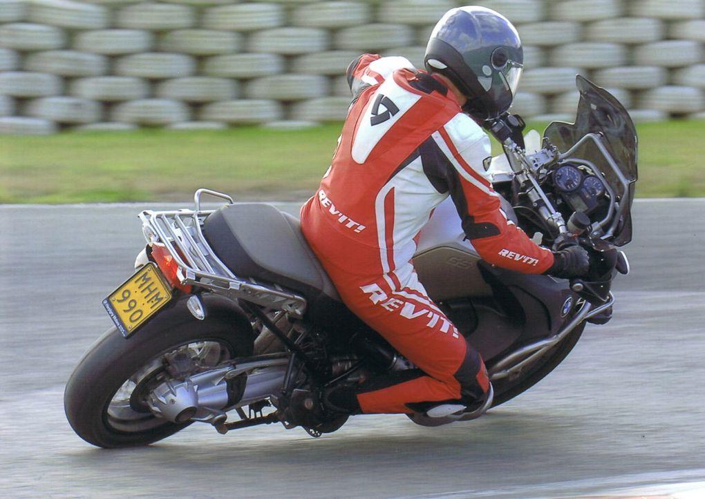 Premiers tours de roues sur le circuit de Croix-en-Ternois pour Fred.Excellentes sensations !