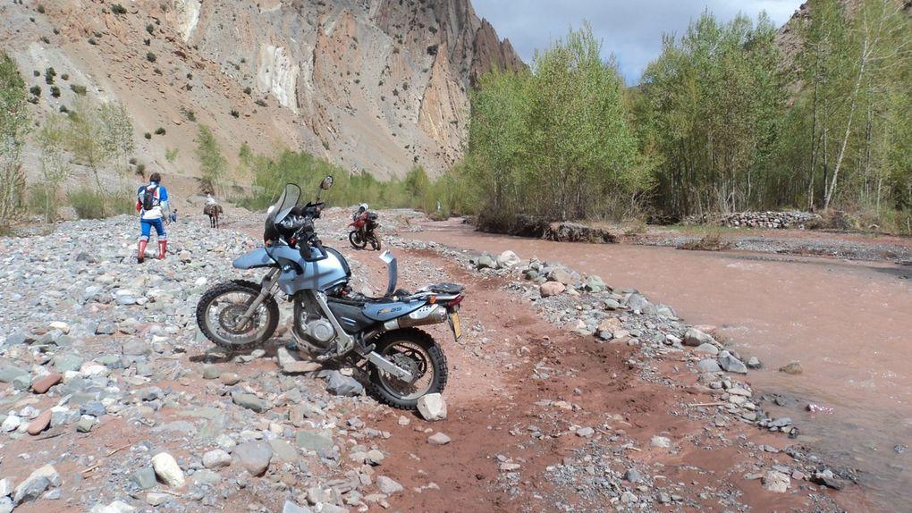 Les photos de notre dernier voyage au Maroc à Moto (2 BMW GS Adventure, un BMW GS 650 et une Honda XR400)