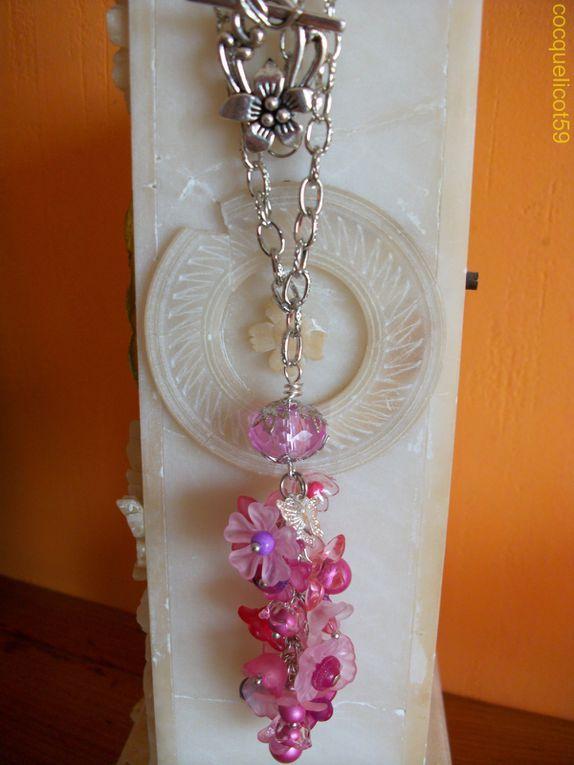 La suite de mes créations de bijoux