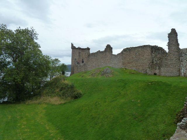 marché  bio au chateau de Cawdor et balade vers et sur le loch Ness