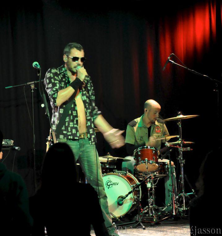 Photos du concert Ricardo Avalon à la Royale Factory de Versailles, le 14 septembre 2012