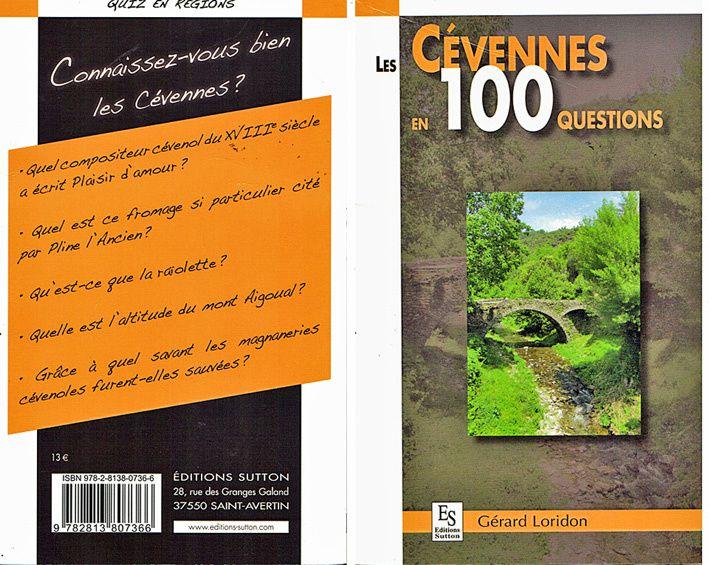 Tout livres parutions sur les Cévennes