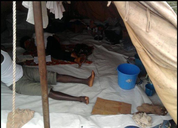 A tous nos frères et soeurs injustement persécutés et qui vivent dans des conditions inhumaines inacceptables