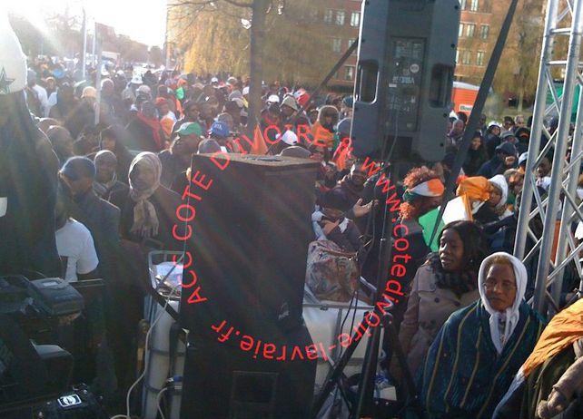 mobilisation des résistants à la Hayepour la libération du président Gbagbole samedi 10 Décembre 2012