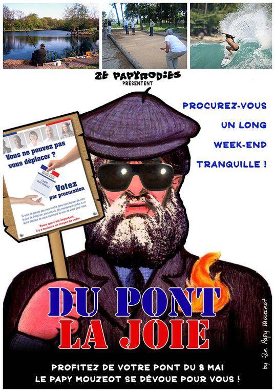 La suite des parodies graphiques du Papy Mouzeot