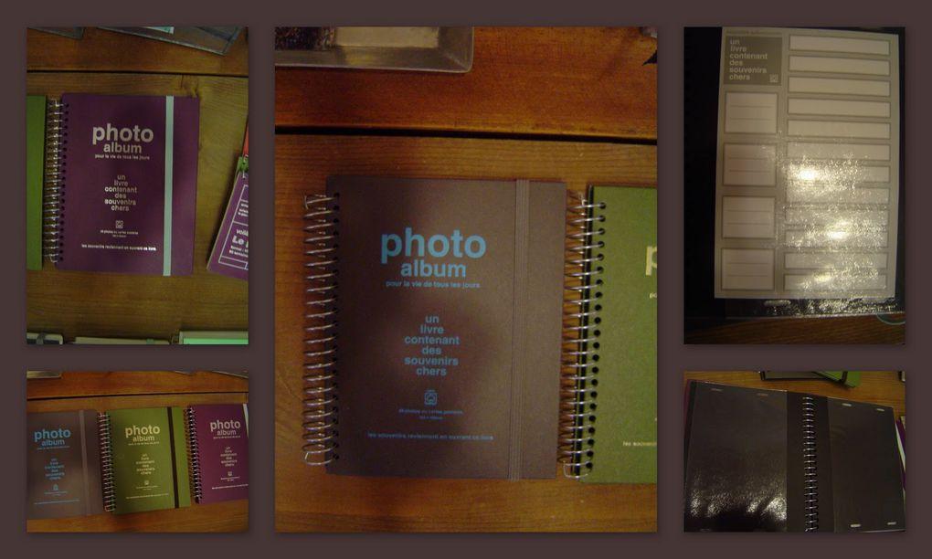 Album - papier-bureau