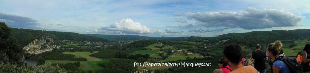 """Un panorama éblouissant à 9 km de Sarlat """"le belvédère de la Dordogne """"..les jardins de Marqueyssac"""