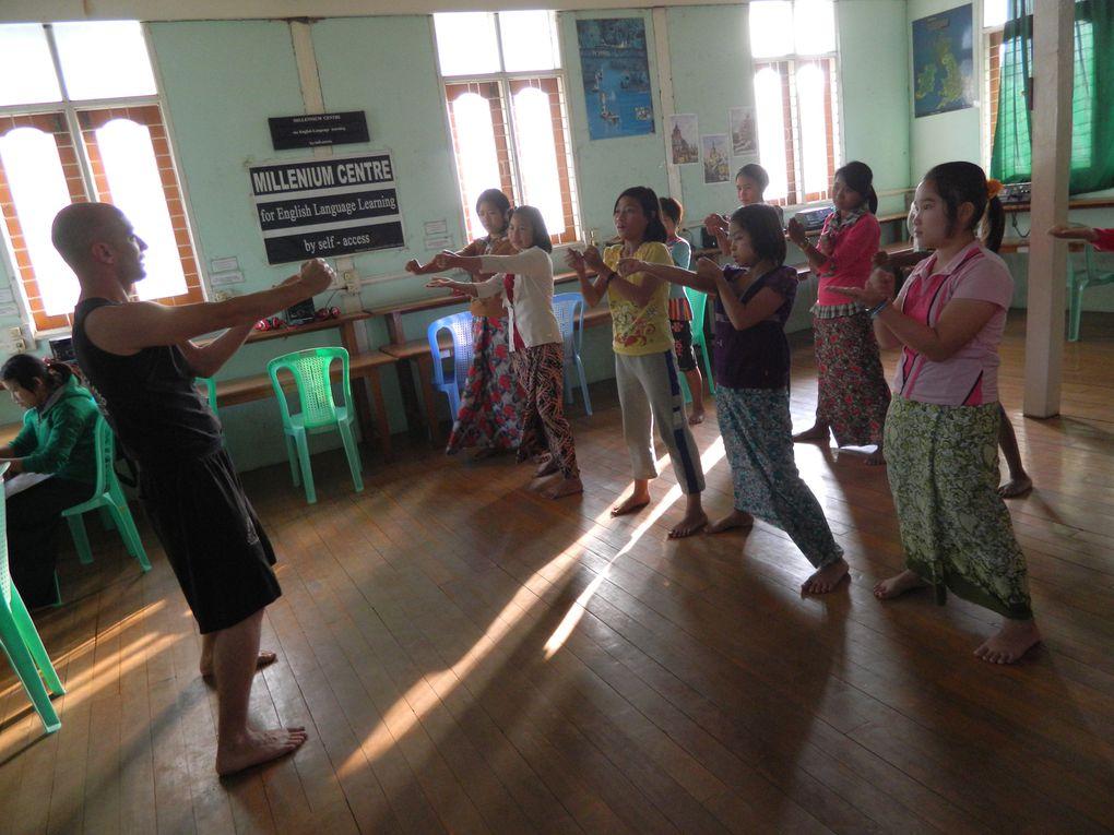 Initiation au Wing Tsun à Mandalay en BirmanieWing Chun Saint-NazaireJohann Maugis tel:06 61 76 21 30