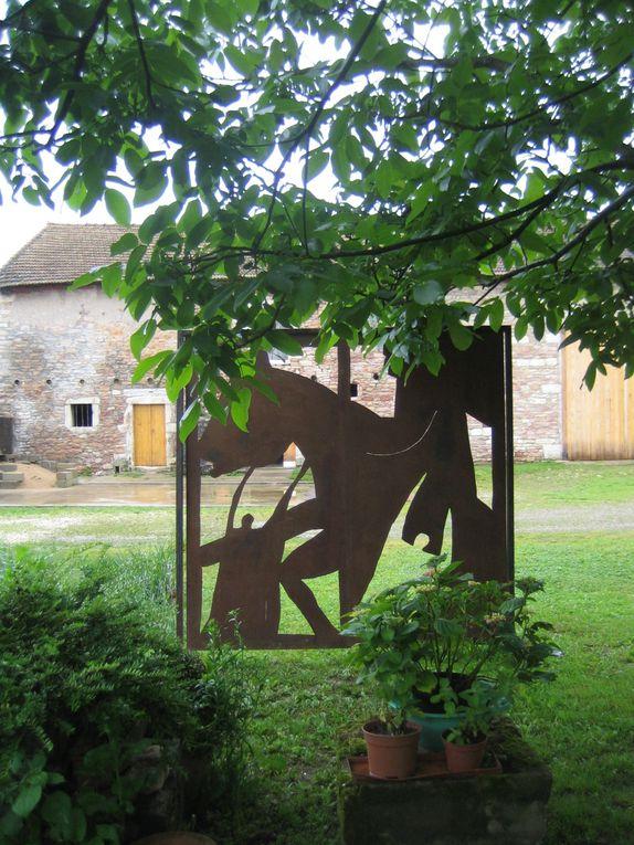 Peintures Arlette PascalSculptures-Dessins Renaud ContetPhotographies Thierry Guillot