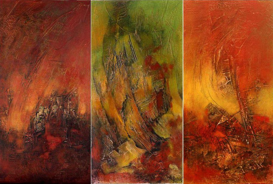 Peintures Arlette Pascal 2011