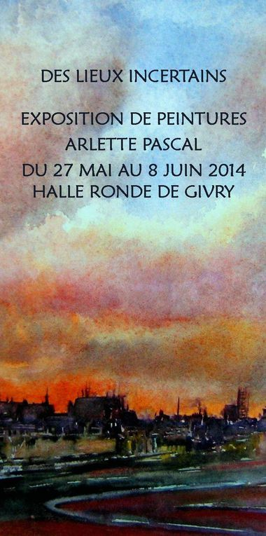 Exposition Arlette Pascal Givry