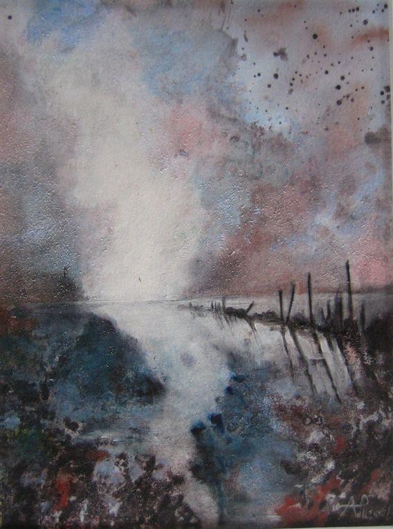 Peintures Arlette Pascal 2012
