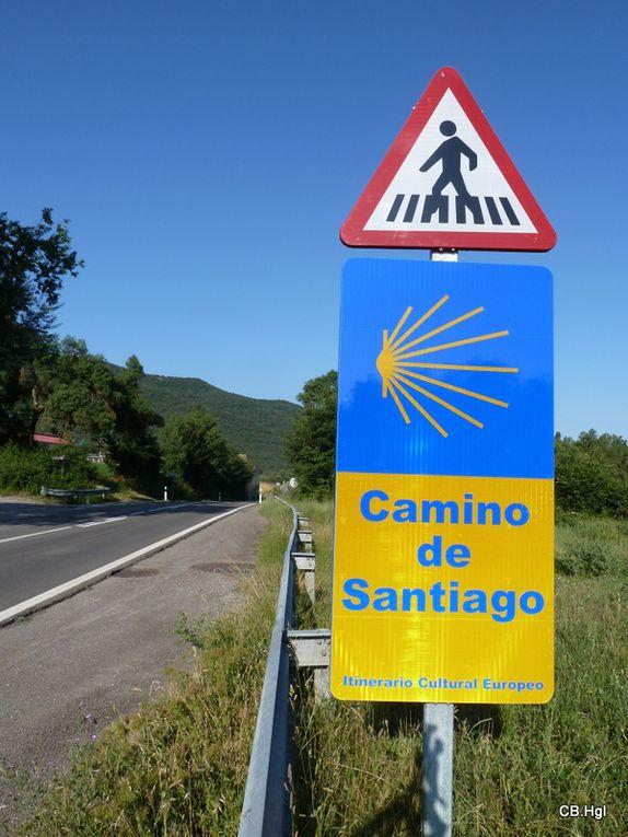 Notre chemin de Lescar (64) à Puente-la-Reina en Espagne en juin 2011