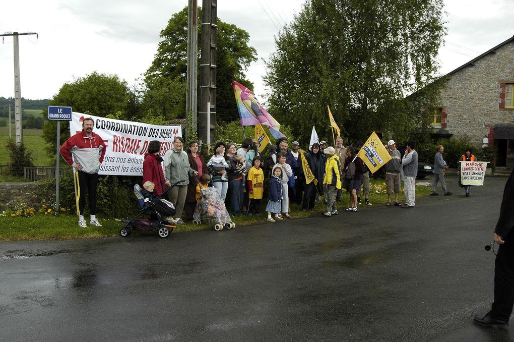 Marche du 26 avril au 18 juillet 2008