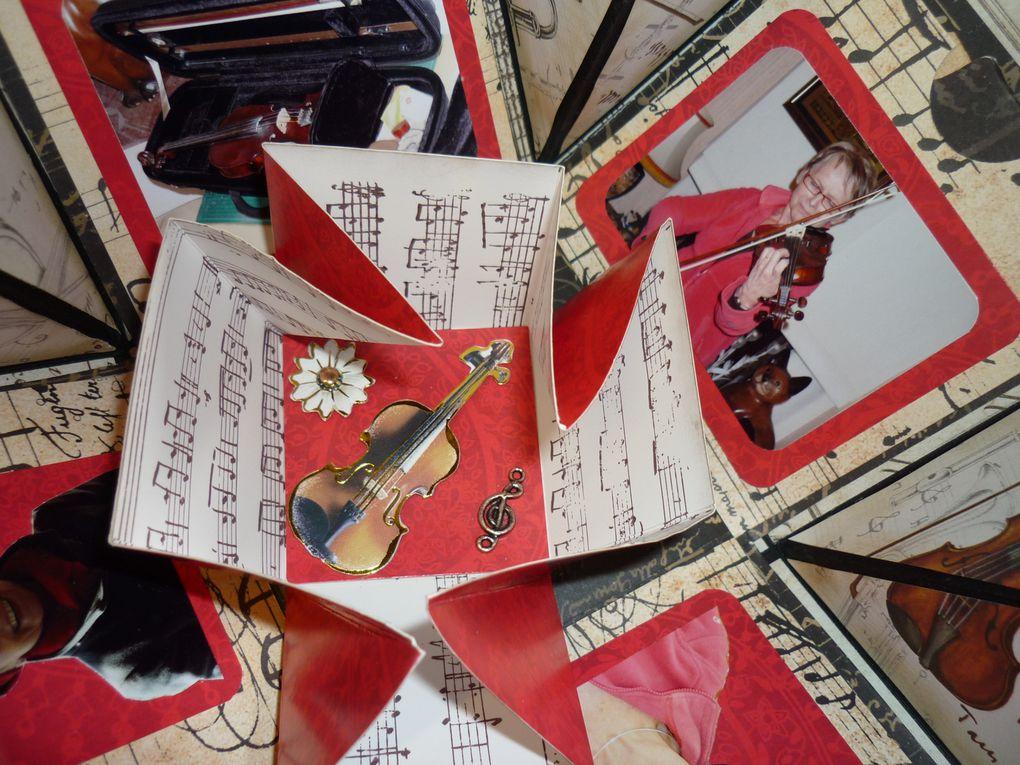 objets 3D cachant un mini-album