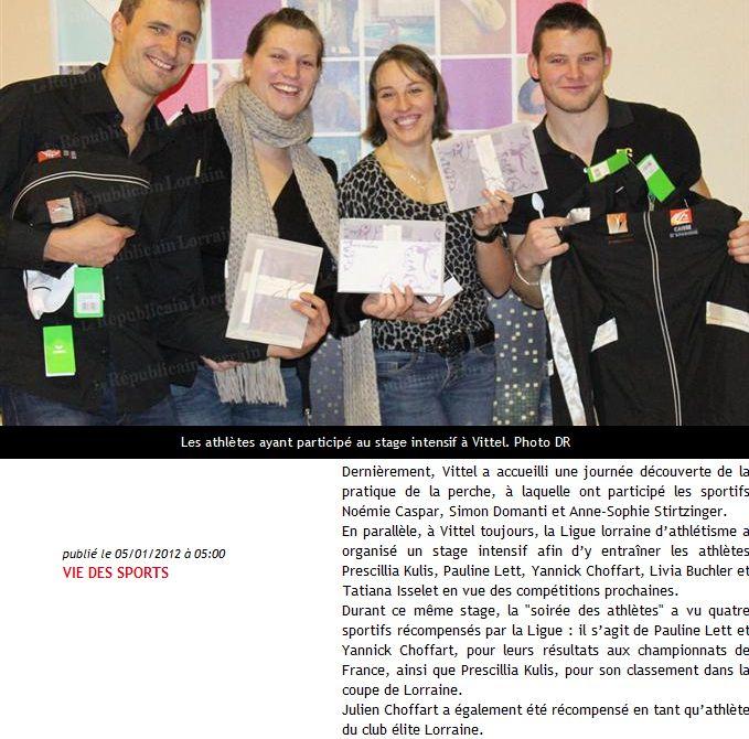 Album - Médias janvier 2012