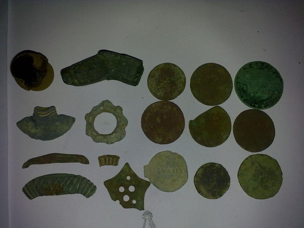 Voici les photos des objets que j'ai trouvé lors de mes sorties. Chaque photo est égale à une seul journée de recherche.
