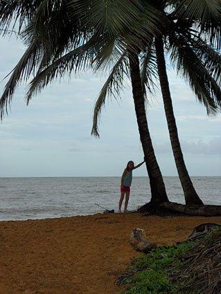 Les plus belles plages de Guyane. Un (immense) coin de paradis, quasi désert, à portée de tous ! Photos (c) Brittia Guiriec