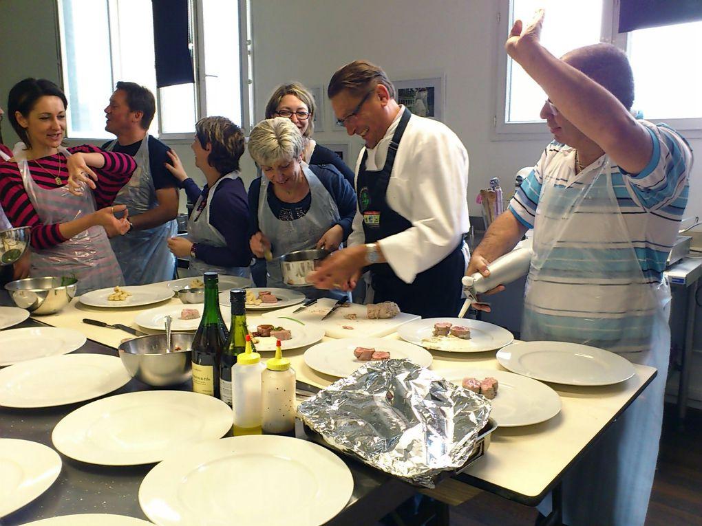 L'atelier du 19 juin 20 personnes dans les cuisines d'AU PIANO DES CHEFS cela était vraiment, très sympa très convivial est très enrichissant merci Messieurs dames.Eric Geoffroy