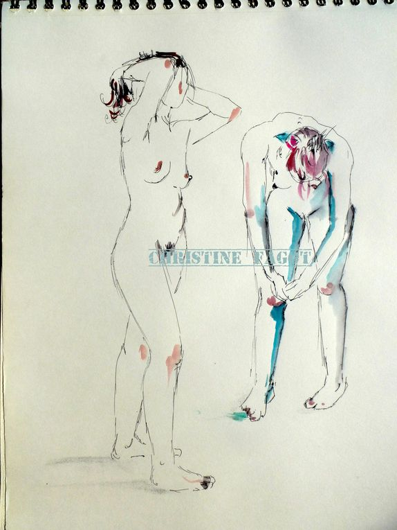 Album - Nus &quot&#x3B;modèles vivants&quot&#x3B;