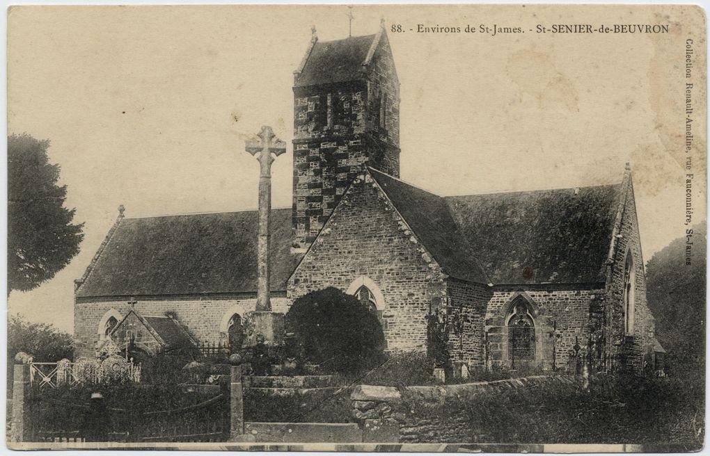 photos de St Senier de Beuvron des archives départementales