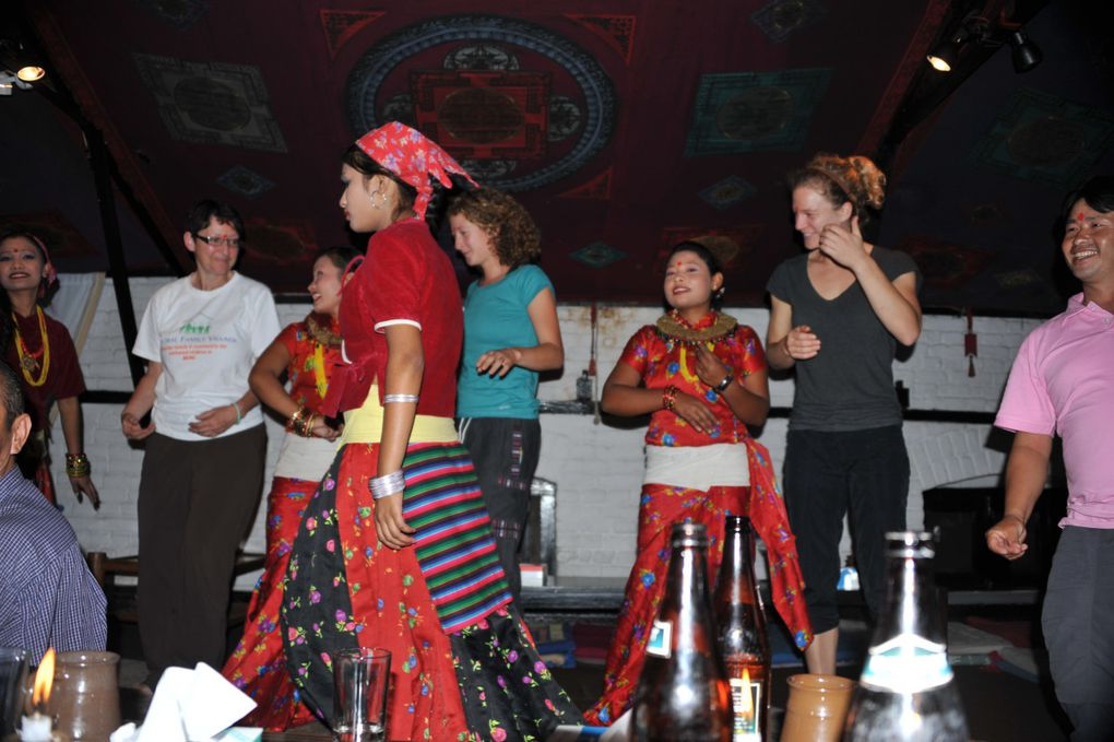 The GFV 2011 Trek Team was hosted by GFV Nepal staff and board as well as the children of Bungamati Village. We enjoyed a wonderful day of learning, eating and enjoying.