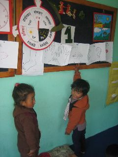 The ECD Program is very popular with the community and 18 to 23 children participate regularly. The benefits of early stimulation and socializing of the children in group activities has a significant impact on their intellectual, social and psycholog