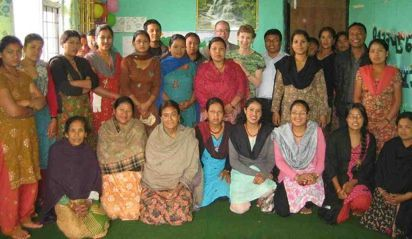 """JSee June 2011 - GFV Nepal Report of the progress at Bungamati House under """"Pages"""""""
