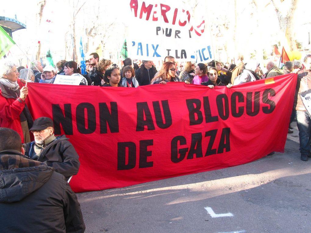 6 mars 2010 : manifestation contre le projet d'implantation de la société israélienne Agrexco à SètePour toutes les photos : droits réservés YM