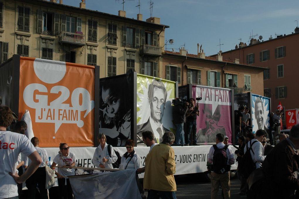 Manifestation du 1er novembre 2011. Droits réservés YM