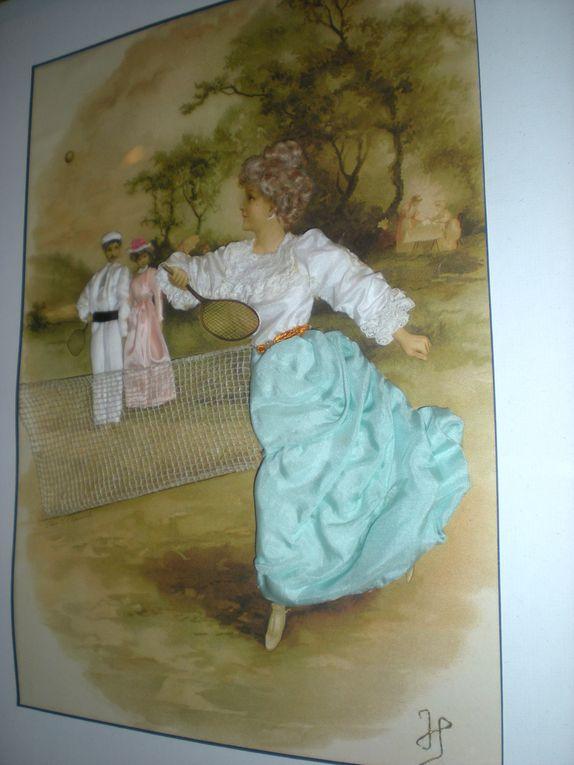 coiffes et costumes du XIX ème