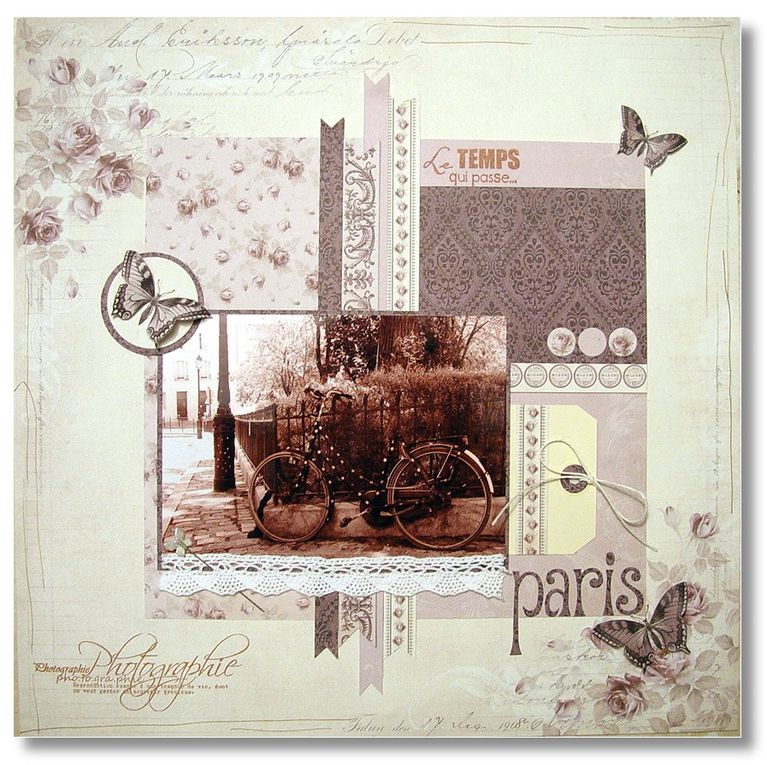 Album - Pages scrap
