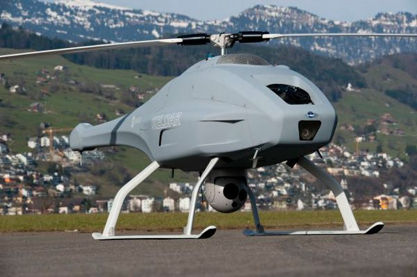 Skeldar-Unmanned-Helicopter
