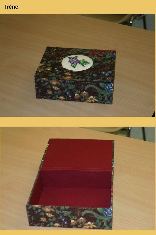 Album - Boîte à inclusion