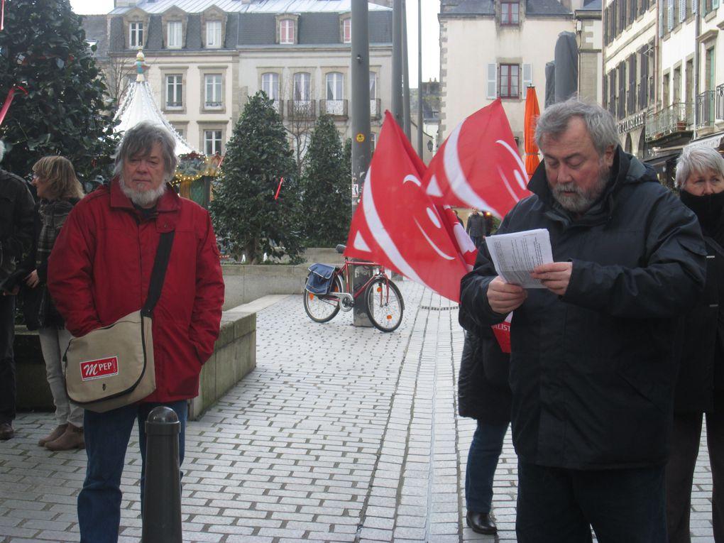 Manif contre la hausse de TVA et le pacte d'irresponsabilité sociale entre Hollande et le Medef!
