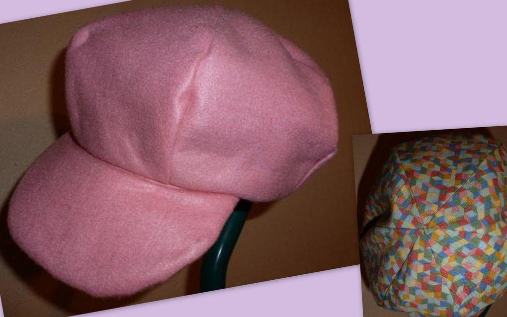 Les ouvrages réalisés par les personnes qui participent à l'atelier couture que j'anime chaque semaine.