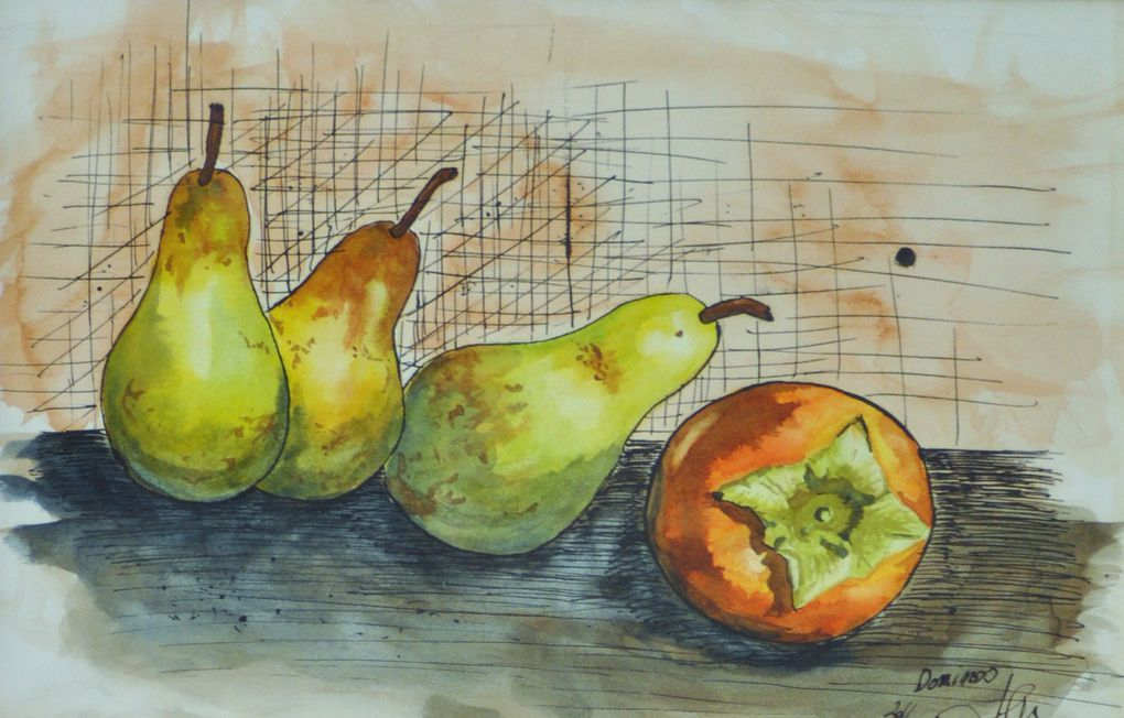 Album - Dessins et Aquarelles