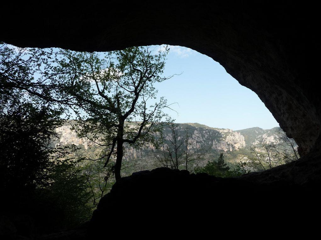 Interclub Montezic-Le sentier des Croix-St Beauzely-L'Hermitage St Pons