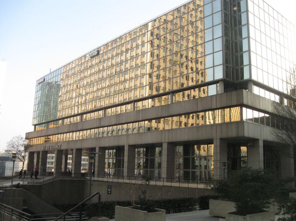 quartier des affaires à la Défense