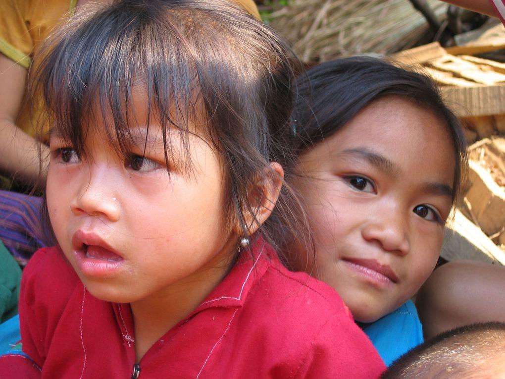 le Laos est le pays certainemeny le moins connu de l'Asie du sud est mais certainement pas le moins intêressant